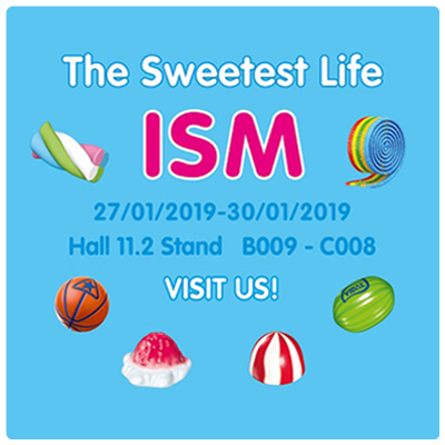 SEE YOU AT THE ISM!