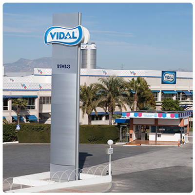 VIDAL CANDIES, ONE OF EUROPE'S FASTEST GROWING COMPANIES